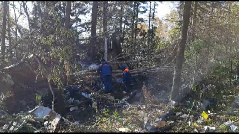 The remains of the dead were found at the crash site of the An-26 in Khabarovsk
