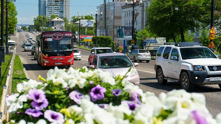 More buses and trams will go on routes in Khabarovsk