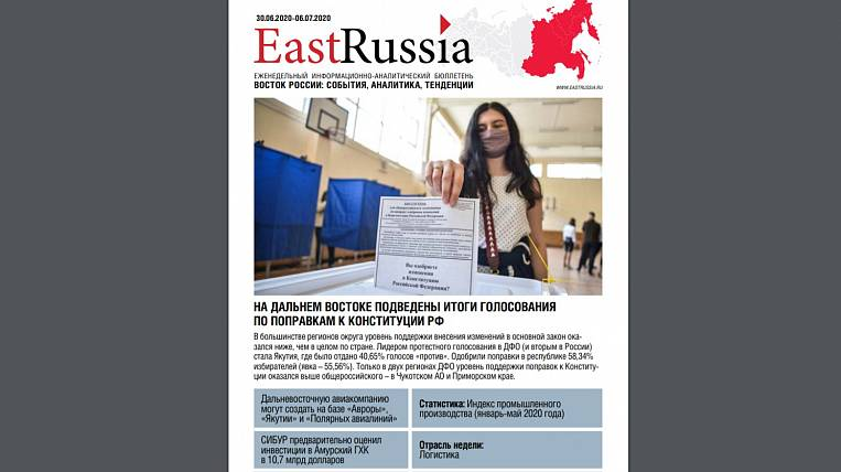 EastRussia Newsletter: SIBUR Holding Appraises Investment in Amur Mining and Chemical Combine