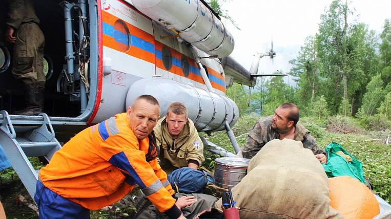 The second place in the area of forest fires in Russia was taken by the Angara region