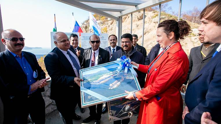 India praised the equipment of the coal terminal of Vostochny Port JSC