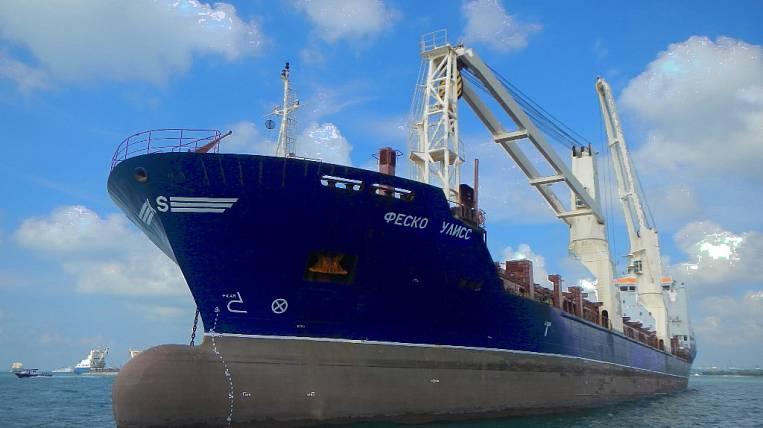 The FESCO Ulysses cargo ship joined the FESCO fleet