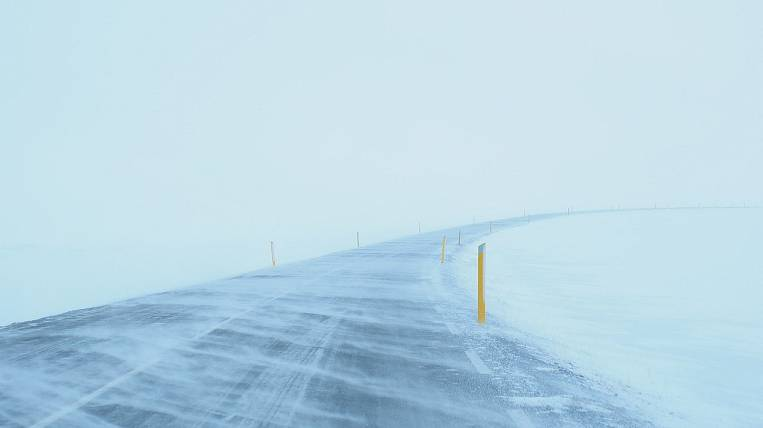 Snow cyclone moves to Sakhalin