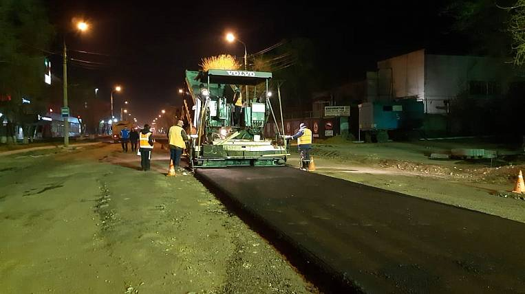 The street in the capital of the Amur region began to be repaired by the national project