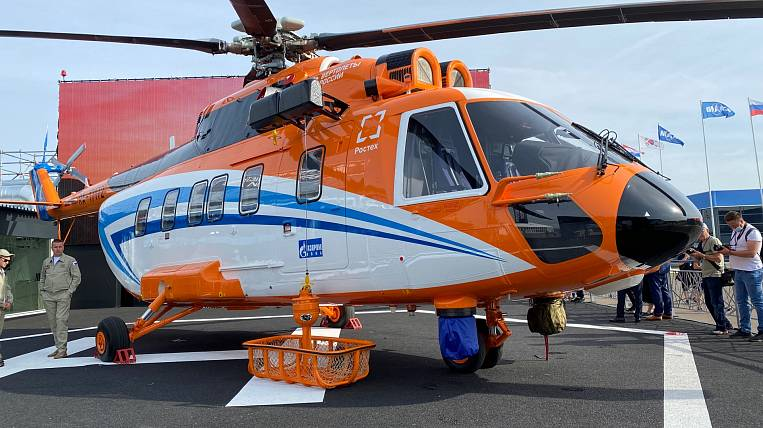 Gazprom bought 16 Mi-171A3 from Russian Helicopters