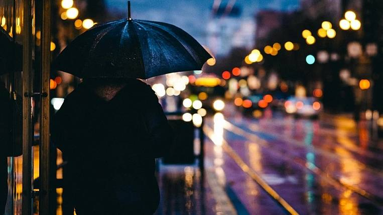 Rains for a week will linger in the Khabarovsk Territory