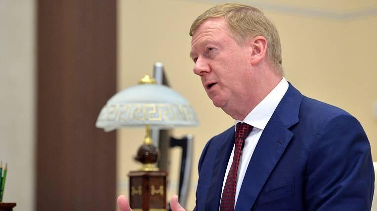 Chubais estimates Russia's losses from coronavirus