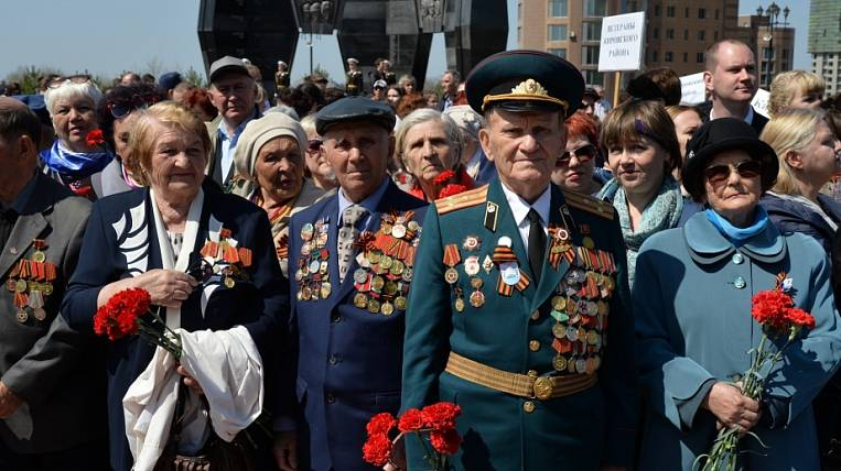 WWII veterans will receive 20 thousand rubles each by May 9 in the Khabarovsk Territory