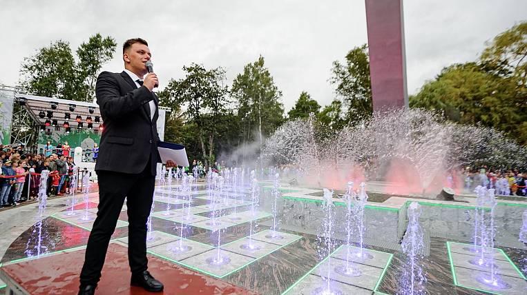 In Yuzhno-Sakhalinsk opened a multimedia fountain