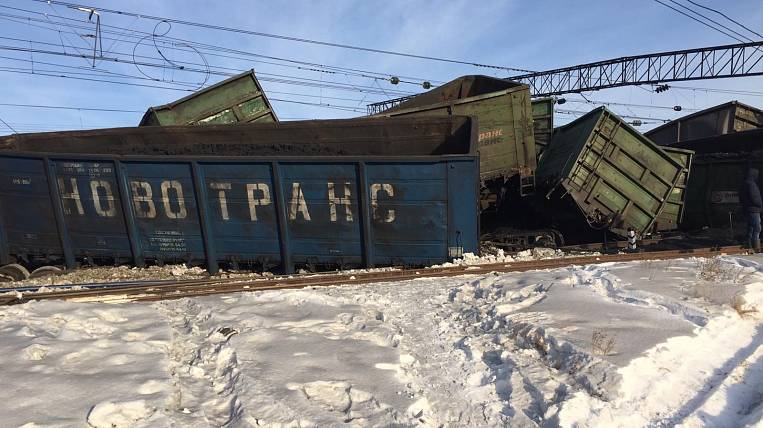 The criminal case was initiated due to the descent of coal cars in the Angara region