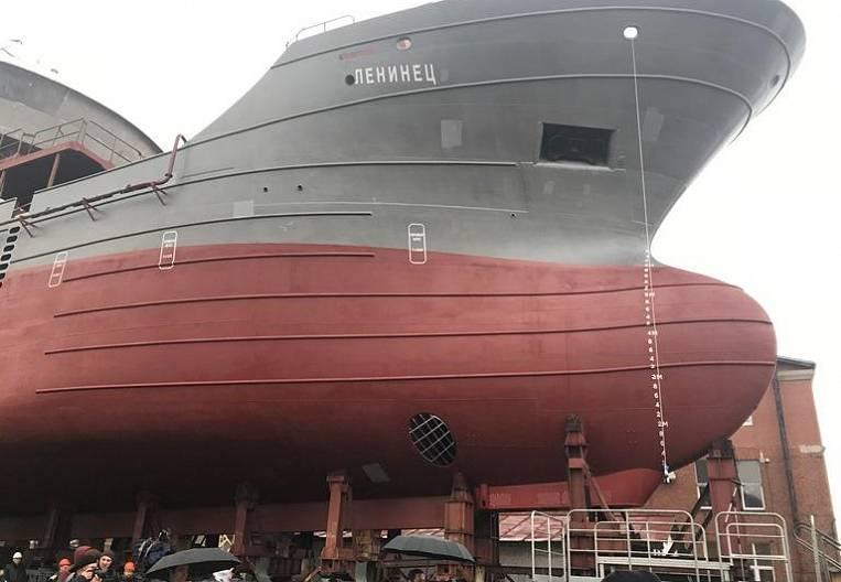 """""""Leninets"""" for Kamchatka built in Kaliningrad"""