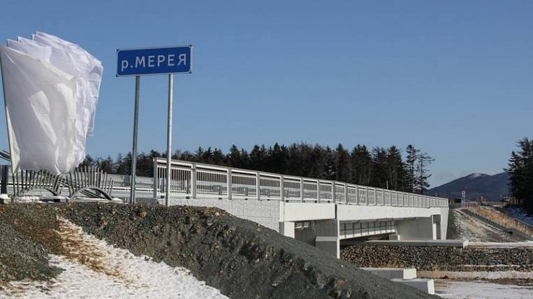 New bridge opened on Sakhalin