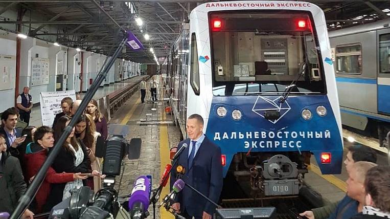 Far East Express is now running on the Koltsevaya Line of the Moscow Metro