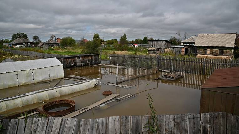 They want to harvest land in the flood zone in the Khabarovsk Territory