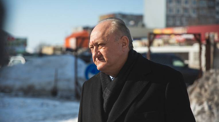 The governor of the Kamchatka Territory was hospitalized