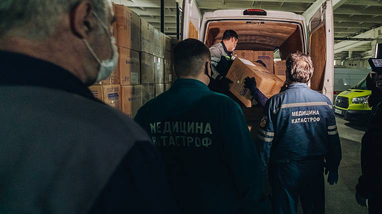 Kamchatka received three thousand protective kits for doctors