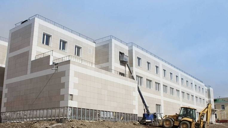 Reconstruction of the oncological dispensary will be completed in Magadan