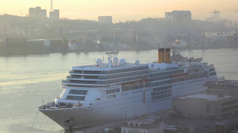 The last cruise ship this year entered Vladivostok