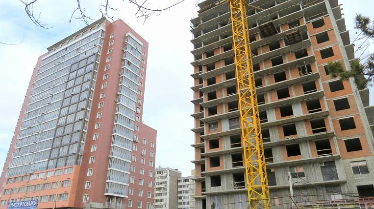 More than 40 thousand square meters. meters of housing will be handed over this year in Khabarovsk
