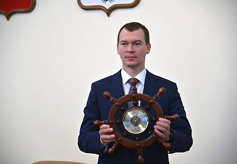 Khabarovsk street of the acting governor did not wait