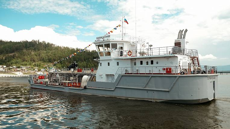 A unique vessel will follow the ecology of Baikal