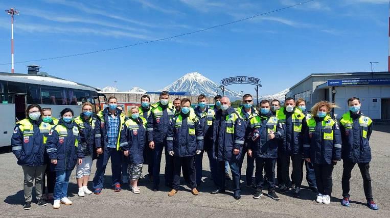 Metropolitan doctors arrived to help doctors of Kamchatka