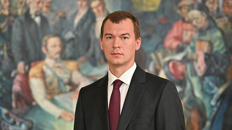 The inauguration of Mikhail Degtyarev took place in Khabarovsk