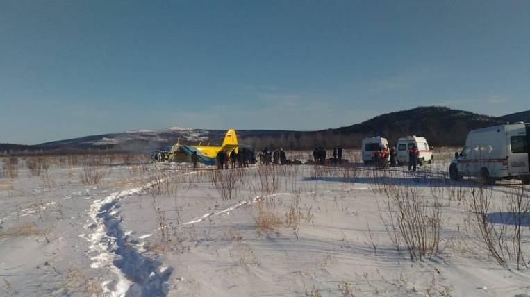An-2 plane crashed in Magadan