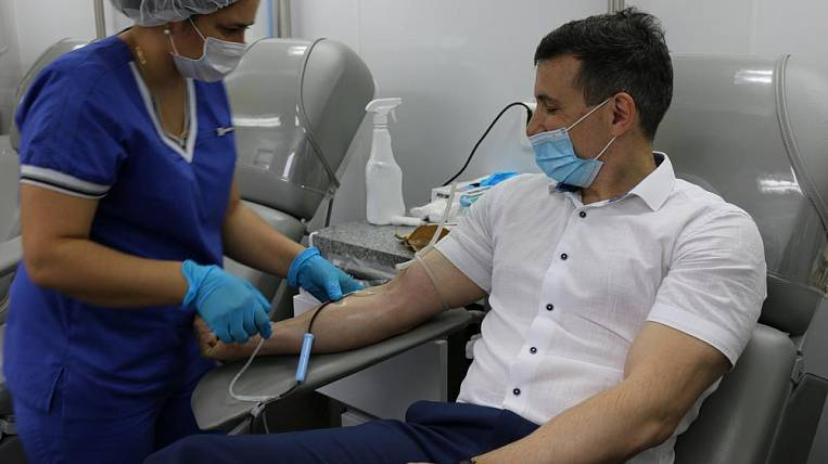 Power engineers of DRSK donated more than 10 liters of blood on the corporate Donor Day