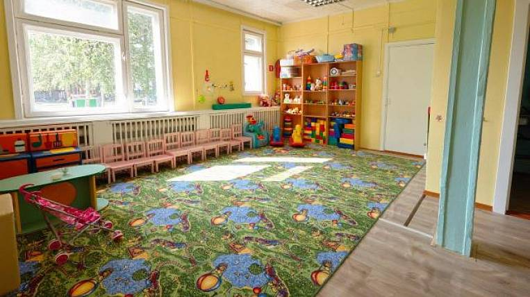 Baikal mining company repaired a kindergarten in the Transbaikal village
