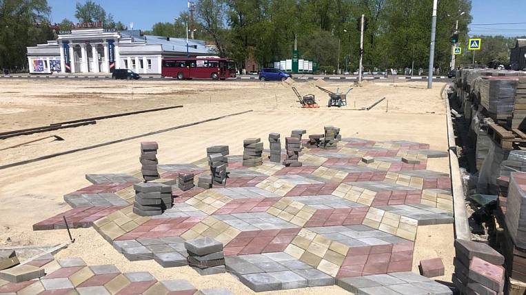The area and six courtyards will be improved in Belogorsk on a national project