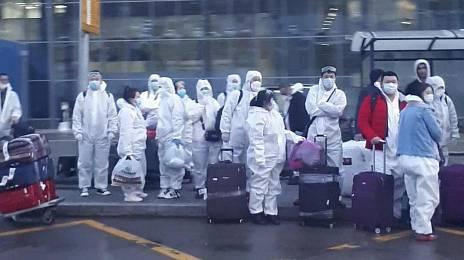 Coronavirus in transit
