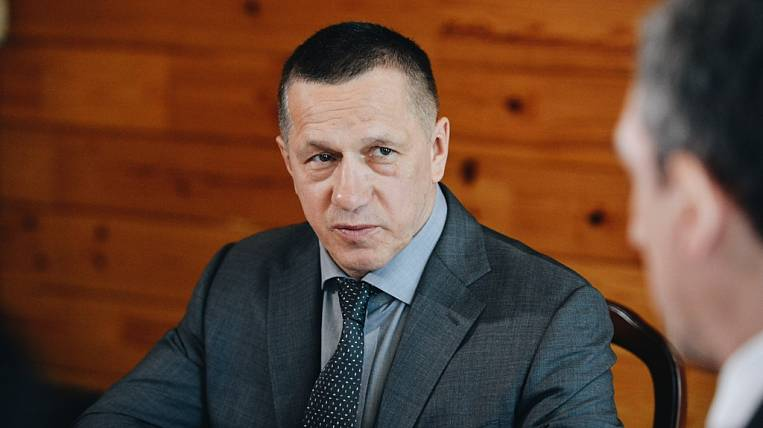 Trutnev criticized the development of the city Tsiolkovsky