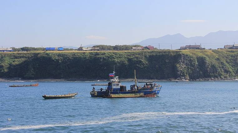 Japan has moved the first tourist trip to the Kuril Islands