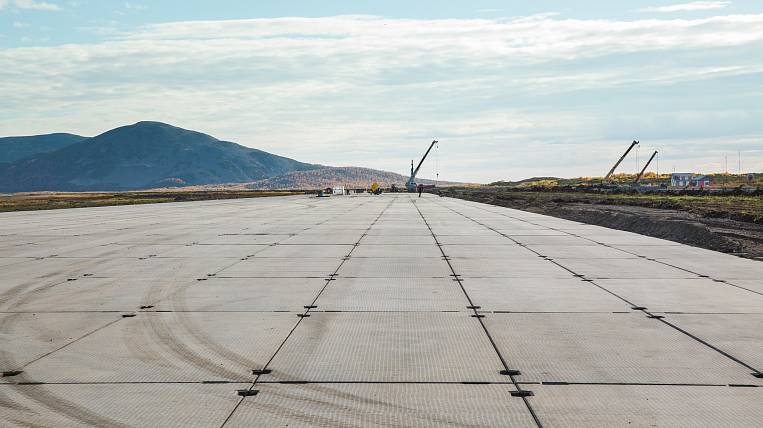 Reconstruction of the airport in Ossor resumed in Kamchatka