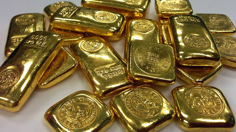 Exports of Russian gold increased by 72%