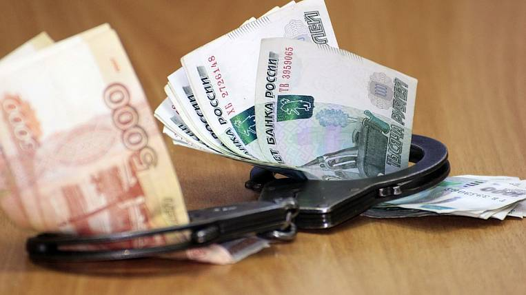 2 billion rubles collected from corrupt officials in Russia over the year
