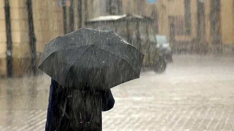Rains spoil the weekend in Primorye