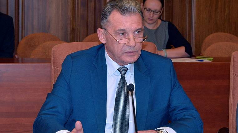 The head of the Ministry of Finance in Khabarovsk Territory was reduced to a simple deputy chairman