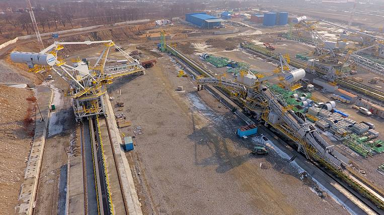 """JSC """"Vostochny Port"""" informs about the beginning of commissioning of the reloading equipment of the Third Stage"""