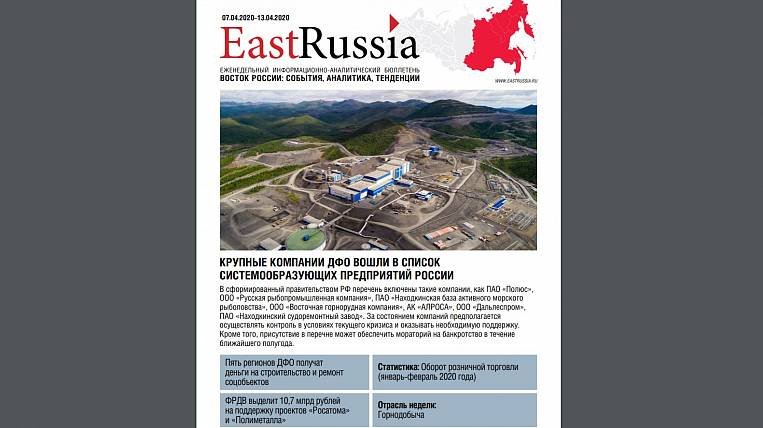 EastRussia Bulletin: BAM Energy Options Selected in Government