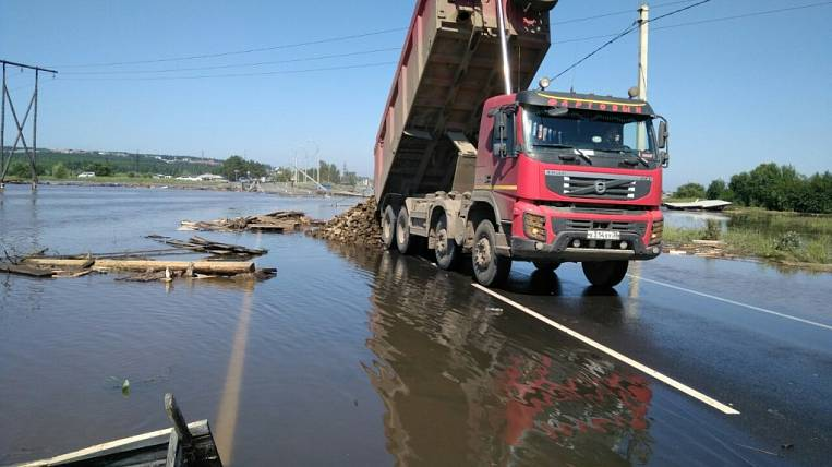 Damage to the roads of the Angara region from floods exceeded 800 million