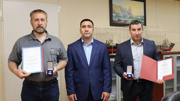 The best builders of Vostochny Port JSC were awarded in Primorye
