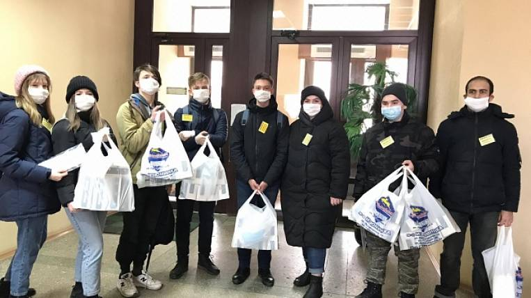 Medical masks were handed out for free in Kolyma