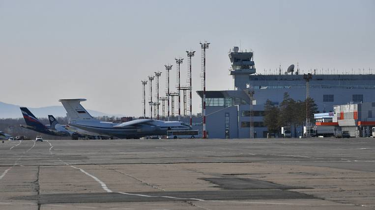 Five flights were delayed in Khabarovsk due to the threat of mining the airport