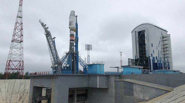 From the Vostochny cosmodrome launched a rocket with satellites