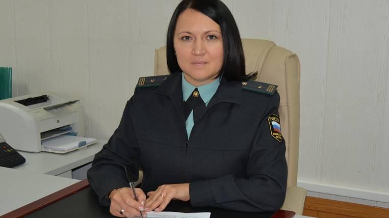 The main bailiff of the Amur region was a woman