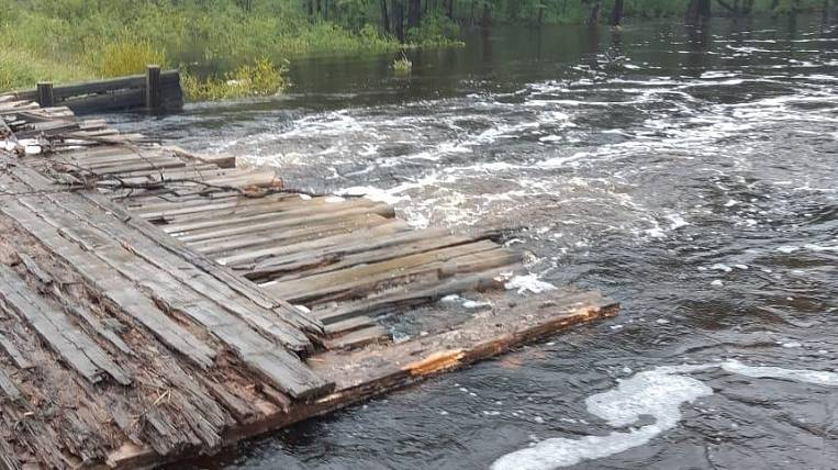 Emergency mode was introduced in one of the districts of Buryatia due to flooding