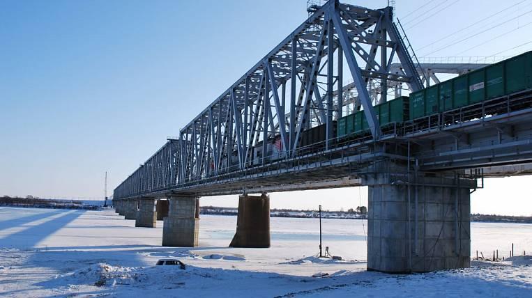 A new railway bridge was opened in the Amur region