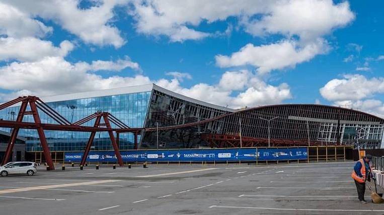 The contract with the airport builder is terminated in Sakhalin